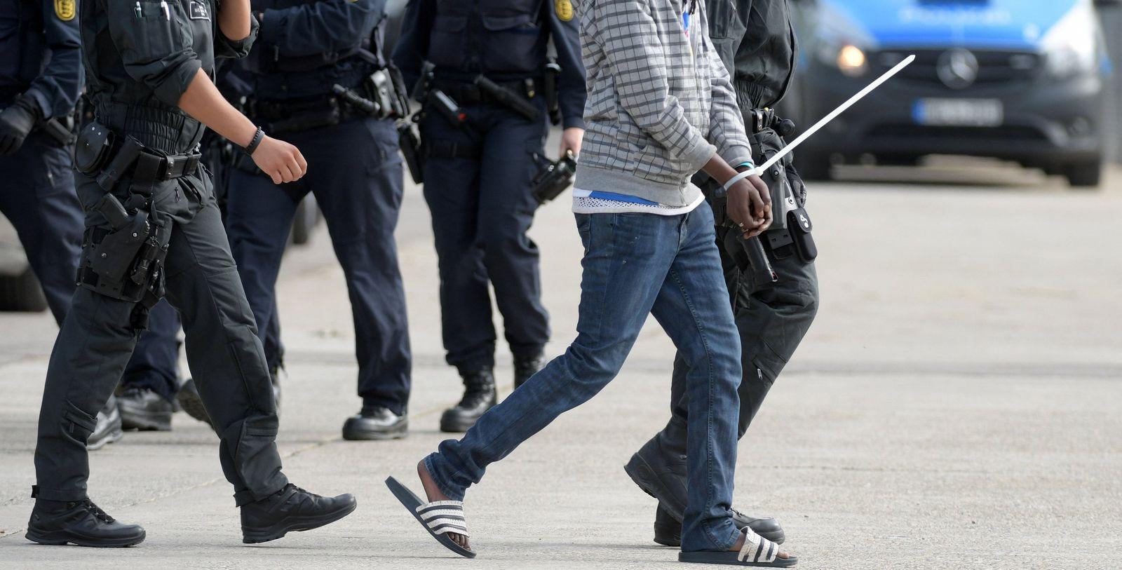 Polizeieinsatz im Flüchtlingsheim Ellwangen