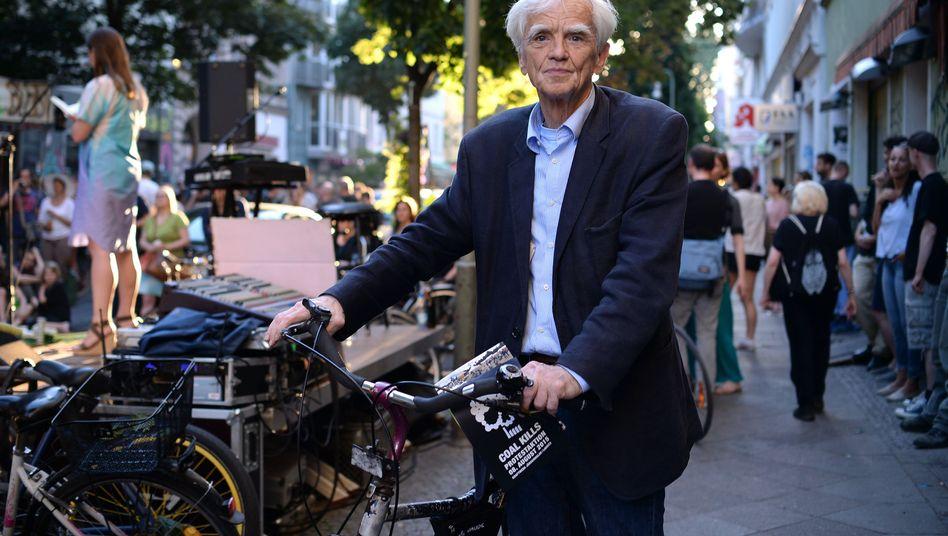 """Grünen-Politiker Ströbele in Berlin-Kreuzberg: """"So etwas habe ich im Ausschuss noch nicht erlebt"""""""