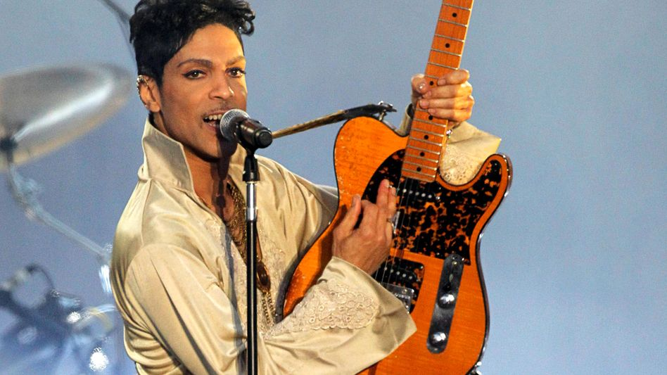 Prince im Juli 2011