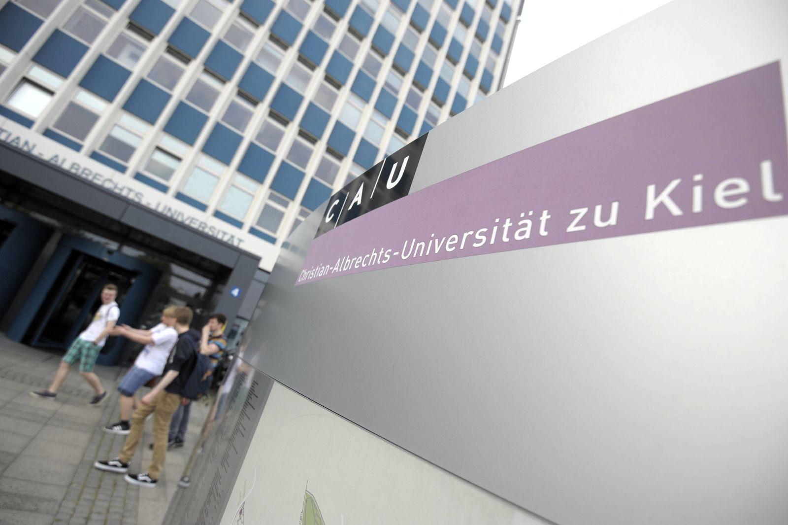 EINMALIGE VERWENDUNG Christian-Albrechts-Universität in Kiel