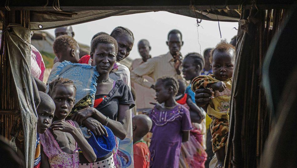 Flüchtlingslager im südsudanesischen Bentiu (Archiv): Gezielte Gräueltaten gegen Zivilisten