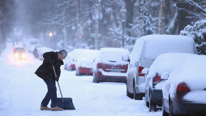 Wintereinbruch: Schippen, räumen, Ruhe bewahren