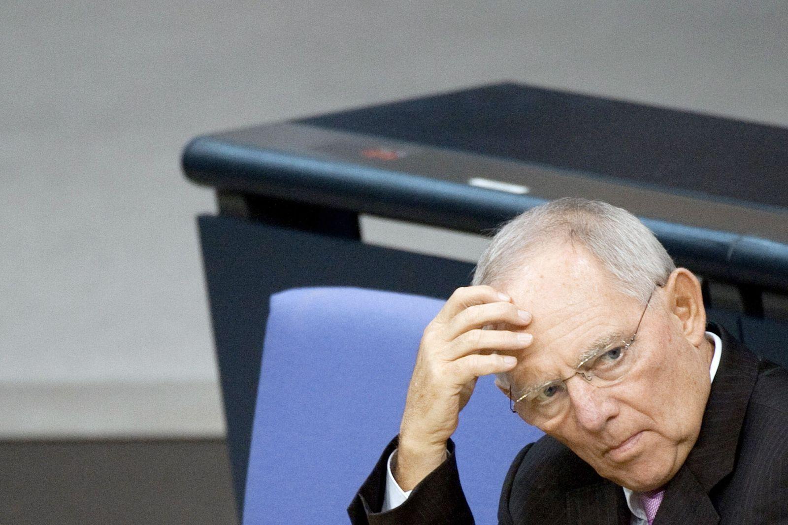 SPIN 52/2012 pp 18 / Schäubles Liste / Wolfgang Schäuble