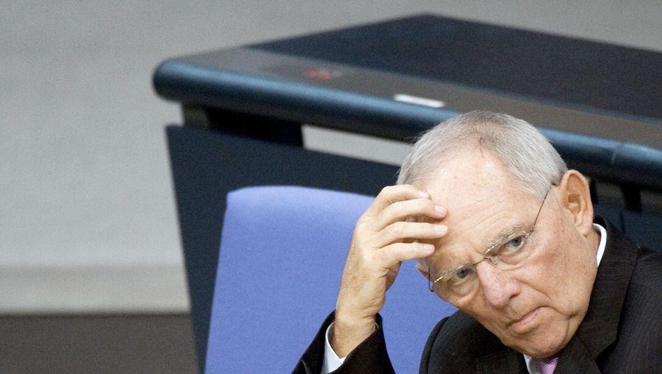 Finanzminister Wolfgang Schäuble (CDU): Wo soll gespart werden?
