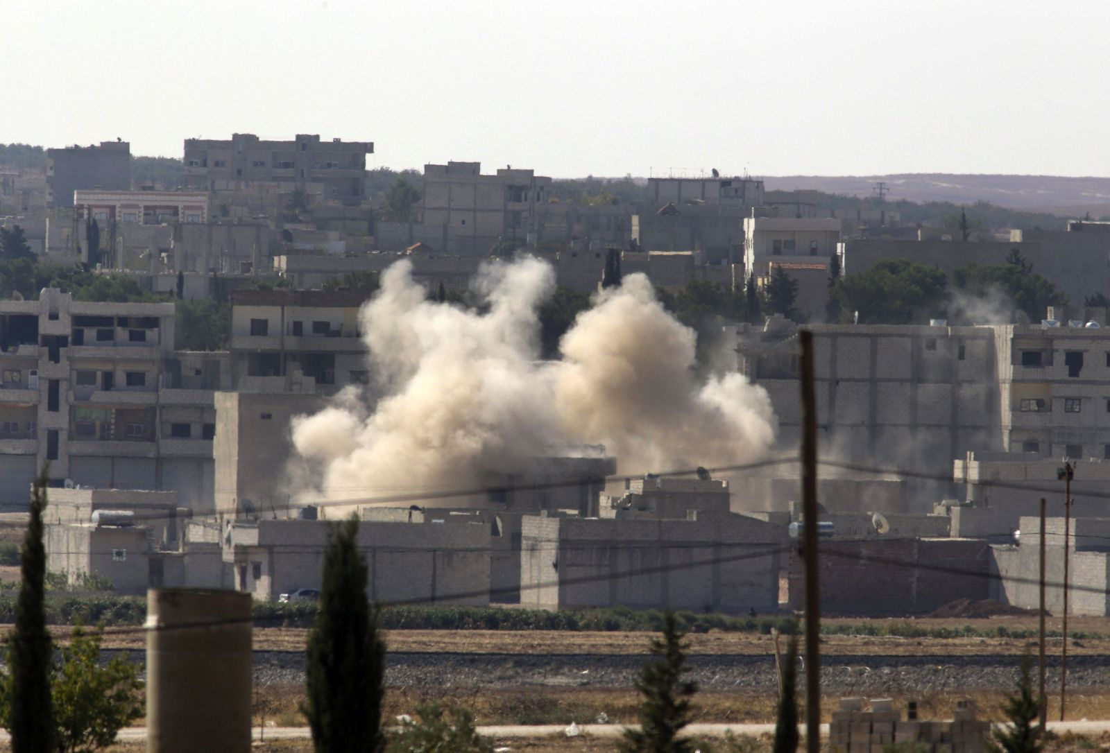 Kobane/Syrien/IS