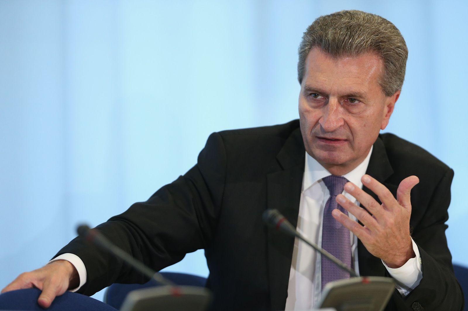 EU-Kommissare/ Oettinger