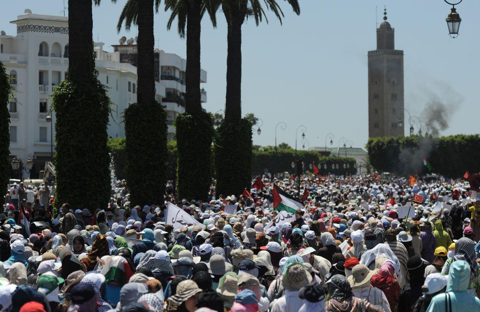 Israel Marmara Morocco