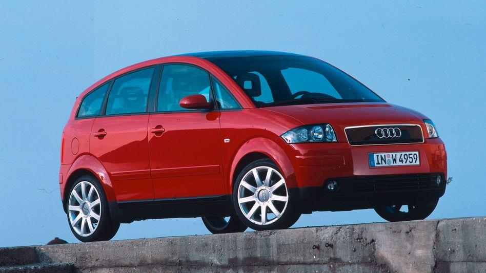 Audi A2: Über die Silhouette des Autos lässt sich vielleicht streiten. Der Preis war für ein Auto dieser Größe mit 30.000 Mark damals aber klar zu hoch.