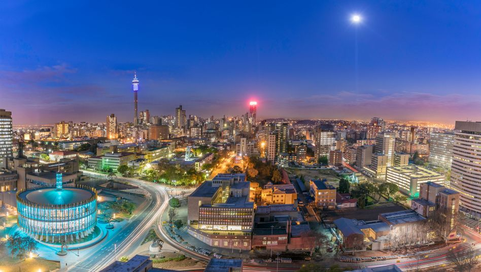 Stadtansicht von Johannesburg