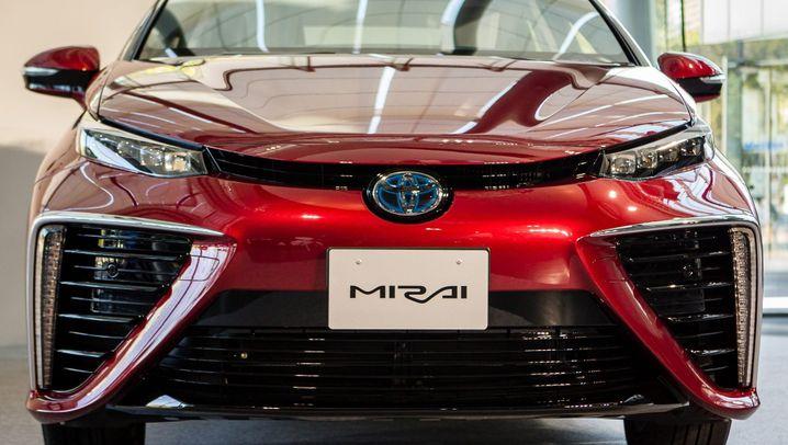 Diese Autos fahren mit Wasserstoff
