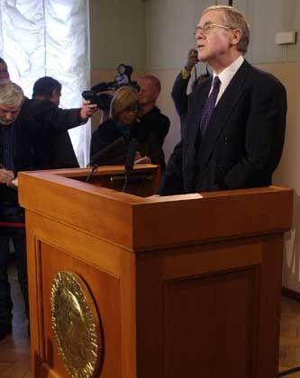 Gunnar Berge ist der Chef des fünfköpfigen Nobelpreis-Komitees