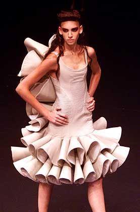 Elfenartig: Flamenco-Mode von Alexander McQueen