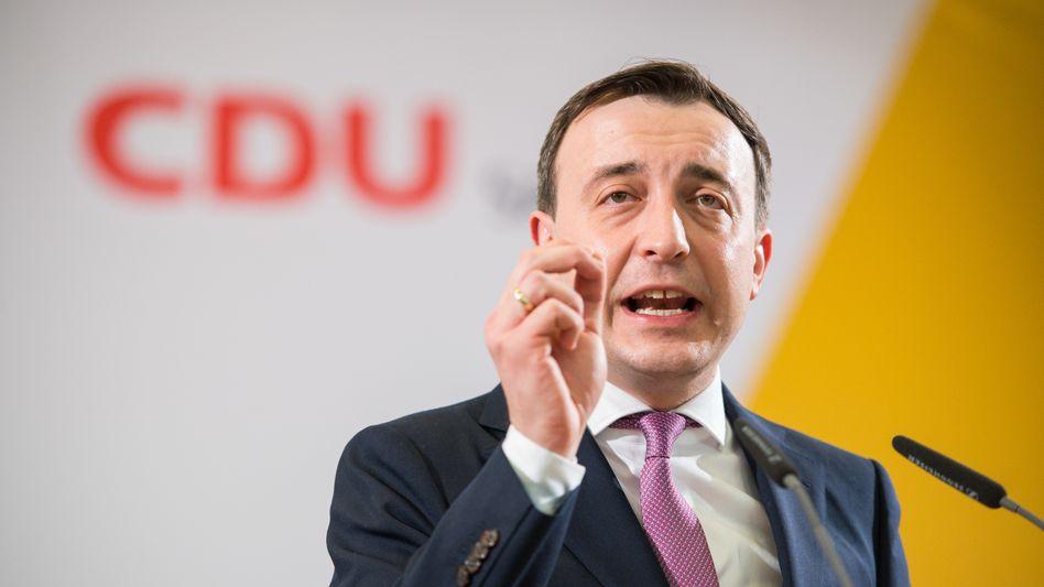 """CDU-Generalsekretär Ziemiak will """"mehr gesellschaftliche Akzeptanz und Vertrauen"""" für Polizeiarbeit (Archivbild)"""