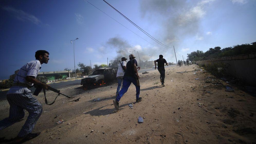 Krieg in Libyen: Aufständische sehnen Gaddafis Ende herbei