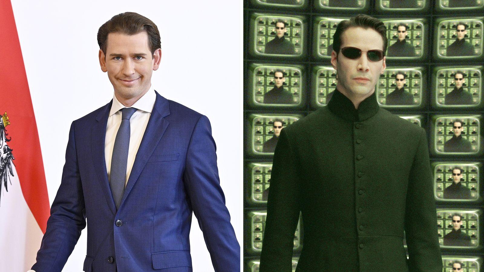 KOMBO Sebastian Kurz / Neo Matrix