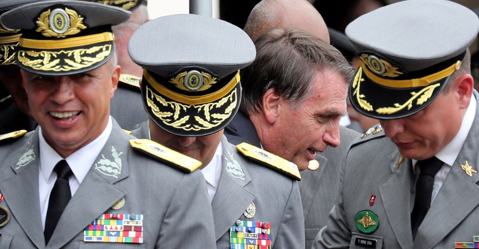 FILE PHOTO: Brazilian President-elect Bolsonaro attends the graduation of the officers of the Military Academy of Agulhas Negras in Resende