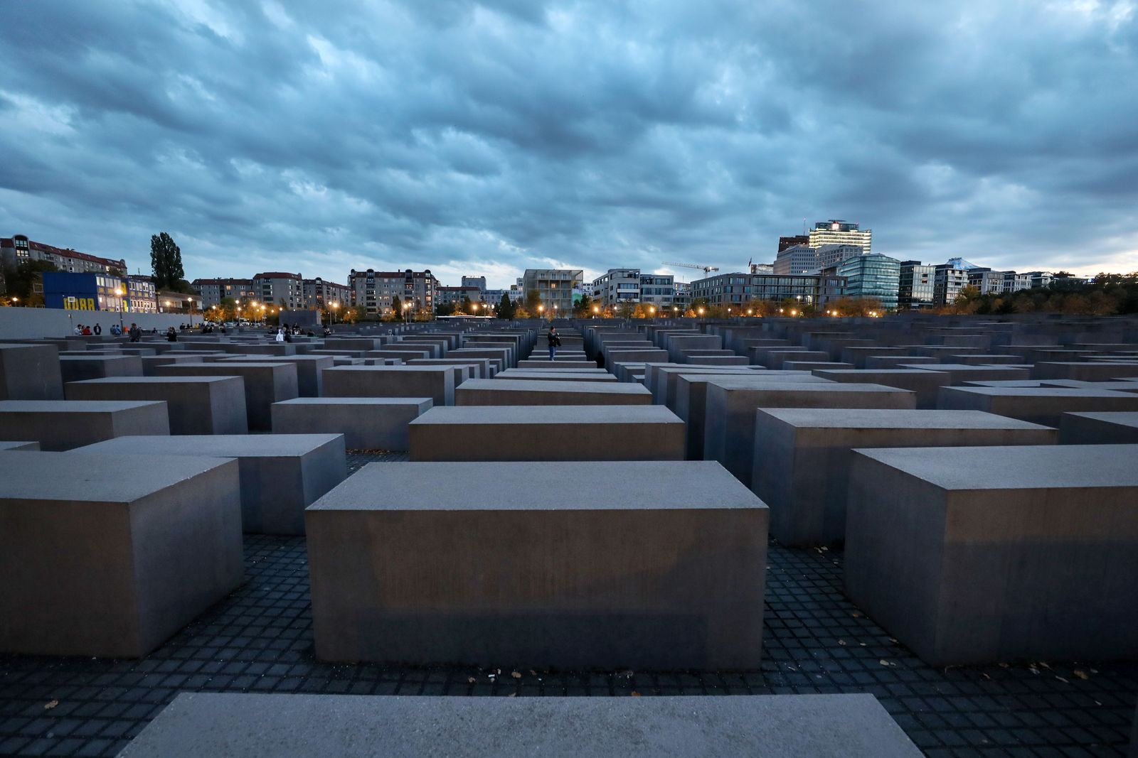 Memorial to the Murdered Jews of Europe in Berlin, Germany - 12 Oct 2019