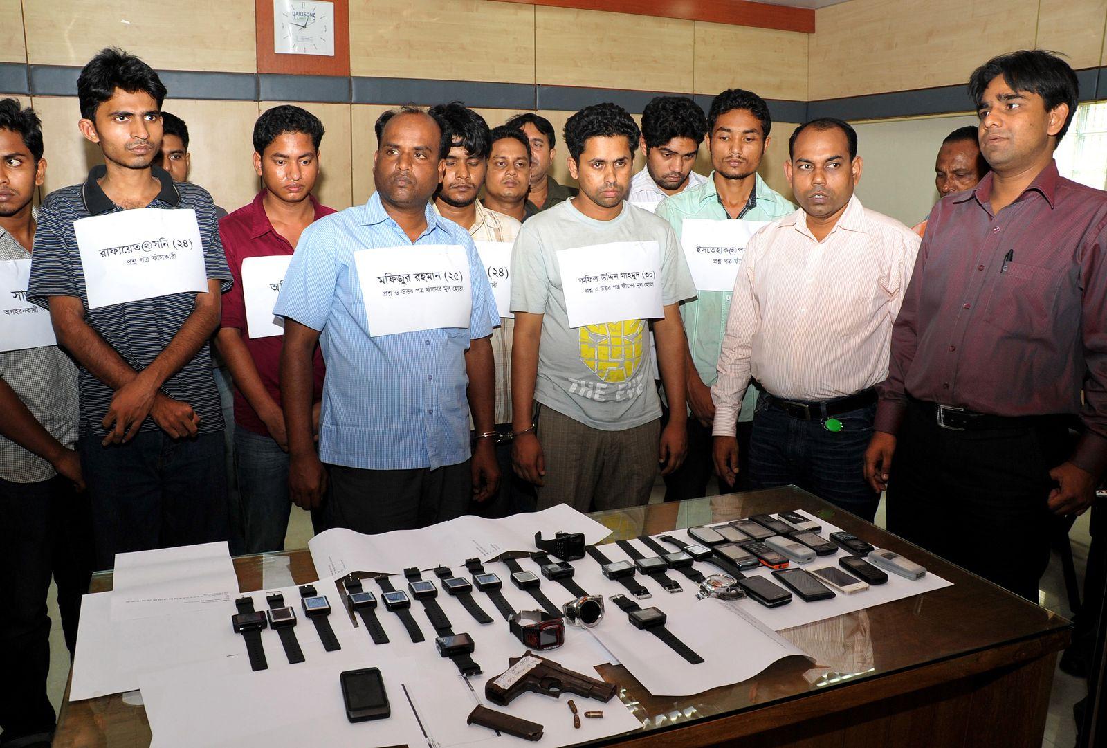 Bangladesh / Examen-Betrüger
