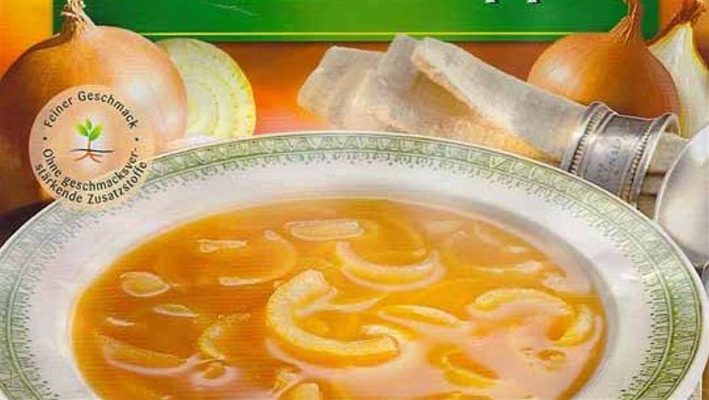 Zwiebelfisch: Tüten Suppe aus der Suppen Tüte