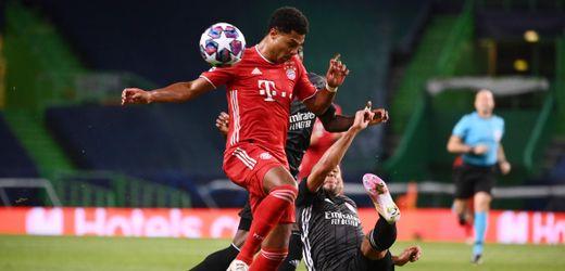Champions League: FC Bayern schlägt Olympique Lyon - dank Serge Gnabry