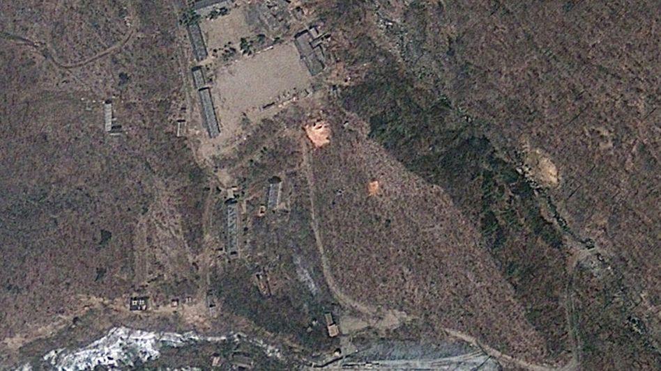 Testgelände Punggye Ri in Nordkorea (Archivbild 2012): Ein neues Beben