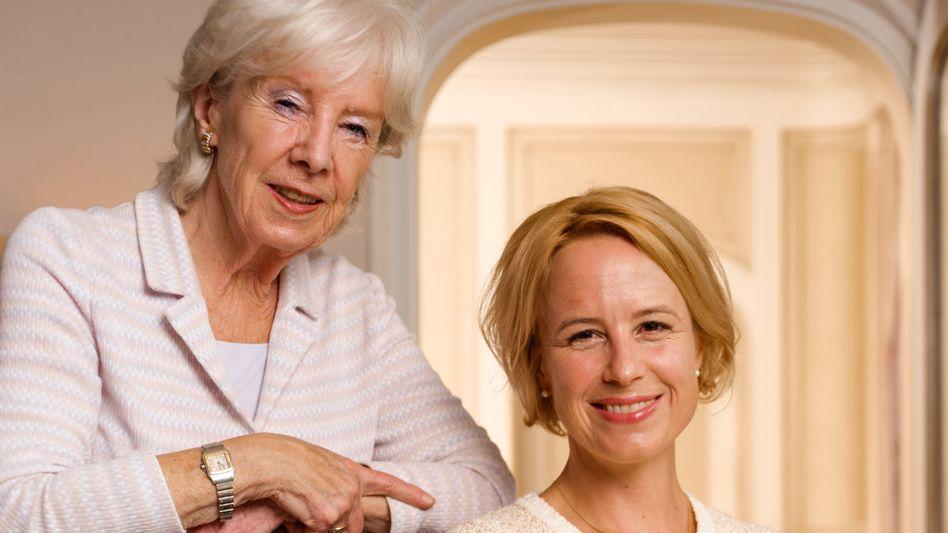 Verlegerin Petra Grotkamp (links) und ihre Tochter Julia Becker