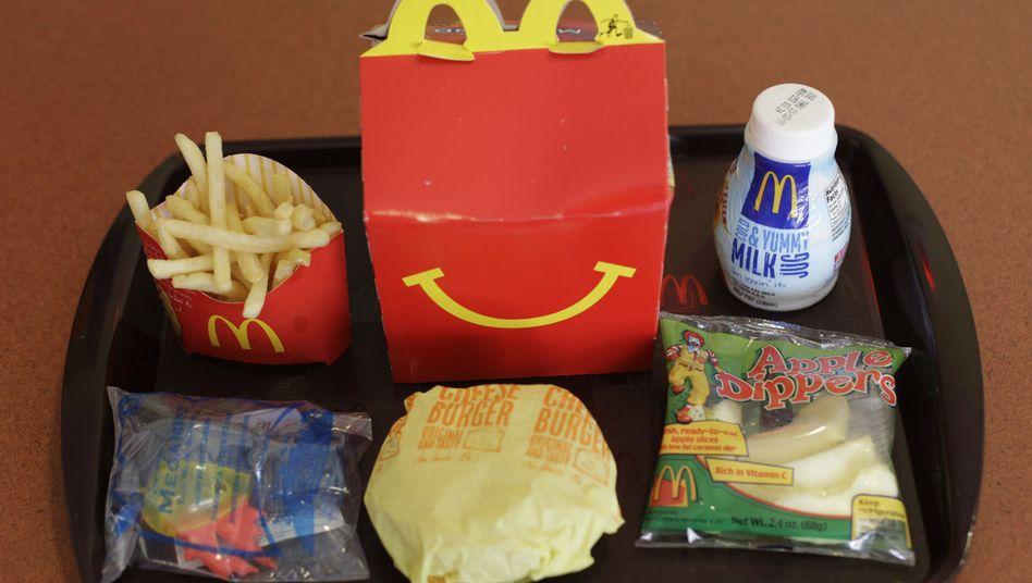 """""""Happy Meal"""" bei McDonald's (in San Francisco): """"Eltern, nicht Politiker, sollen entscheiden"""""""