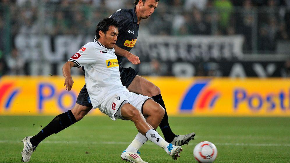 Relegationshinspiel: Gladbachs Zittersieg in der Nachspielzeit
