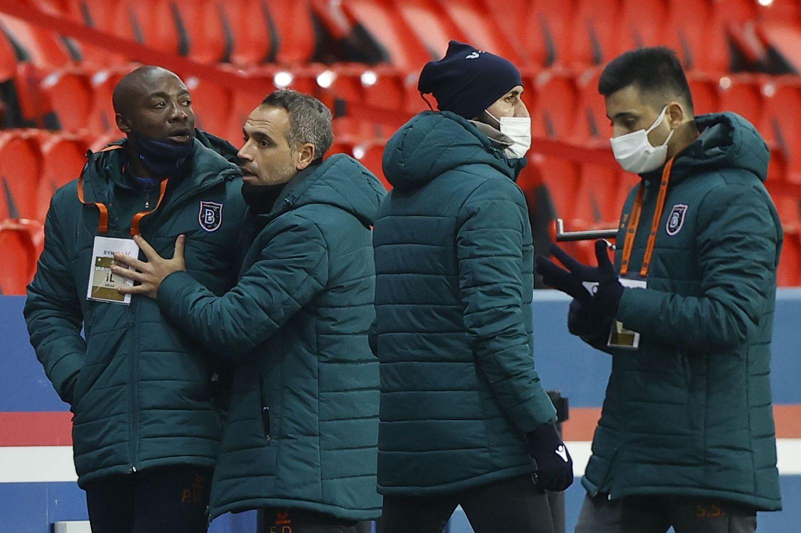 Paris Saint-Germain vs Istanbul Basaksehir, France - 08 Dec 2020