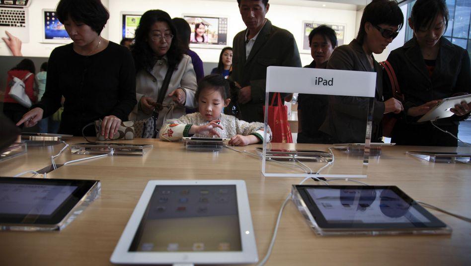 Apple Store in Peking: Bald keine iPads mehr in China?