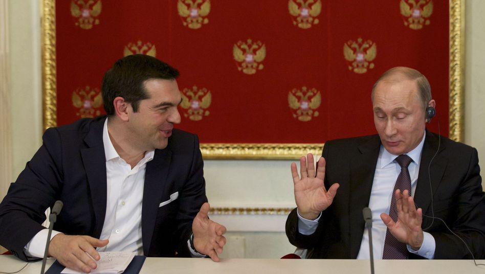 Treffen in Moskau: Tsipras will kein Geld vonPutin, aber...