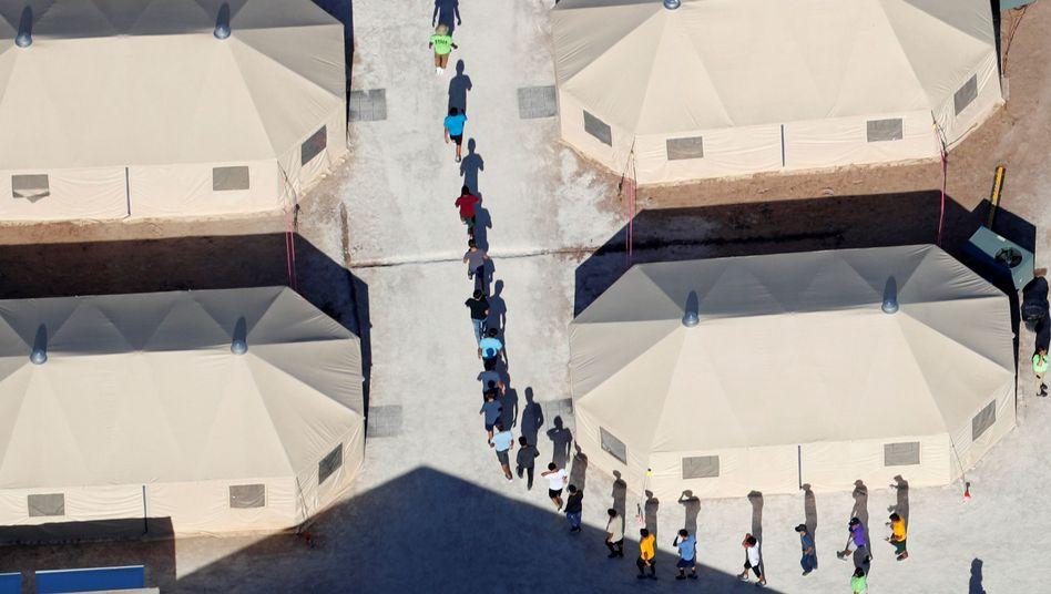 US-Auffanglager an der Grenze zu Mexiko