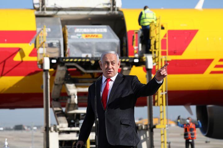Israels Ministerpräsident Netanyahu bei Impfstoff-Anlieferung: »Einer der bewegendsten Momente meiner ganzen Zeit als Ministerpräsident«