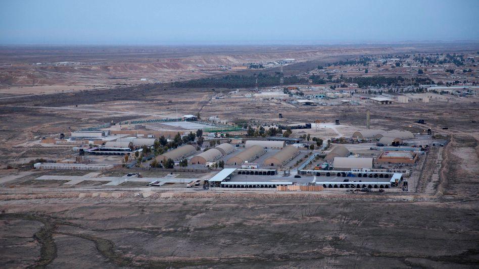 Luftwaffenstützpunkt Ain al-Assad im Irak