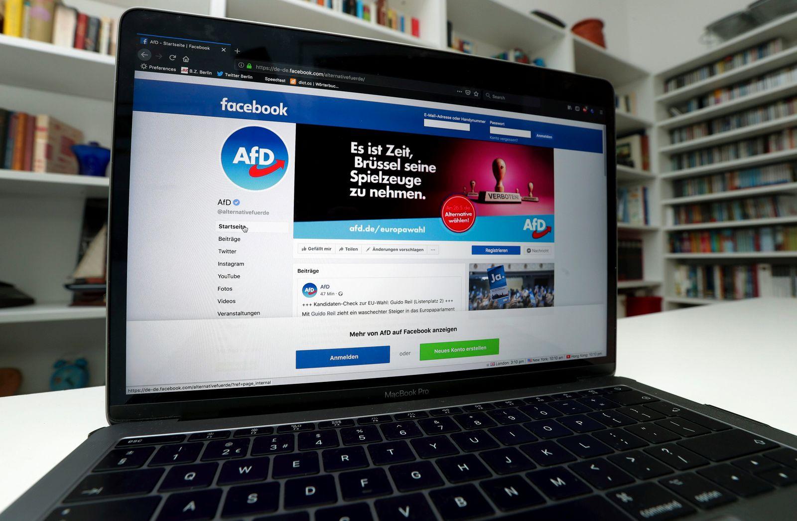 European Elections Social Media Germany