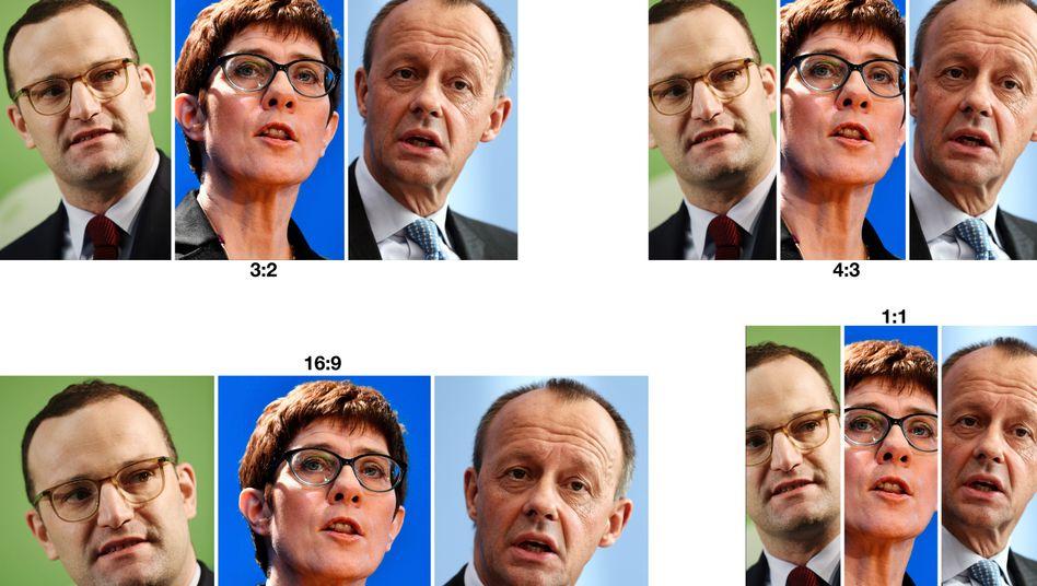 CDU-Vorsitz-Kandidaten