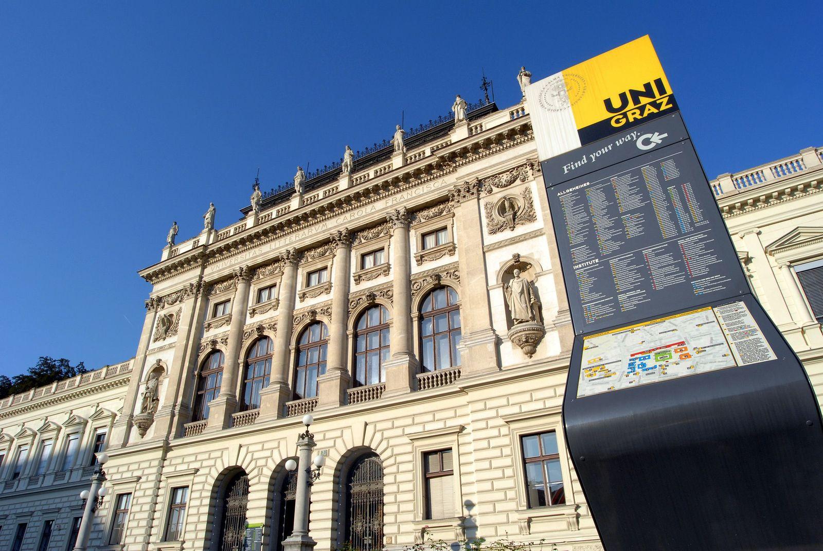 EINMALIGE VERWENDUNG Karl-Franzens-Universität Graz / Uni Graz