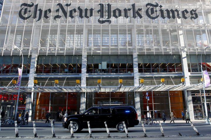 """Zentrale der """"New York Times"""""""