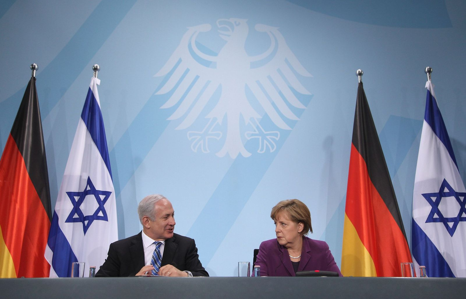Netanjahu/ Merkel