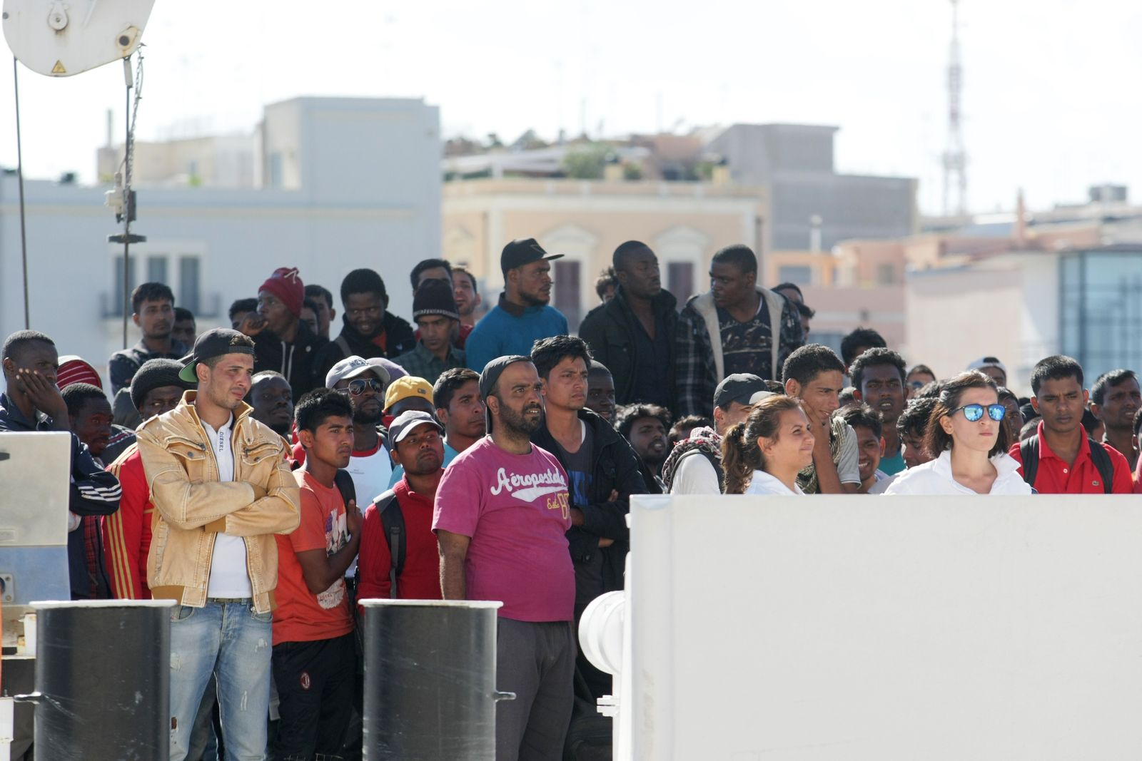 Flüchtlinge Brindisi
