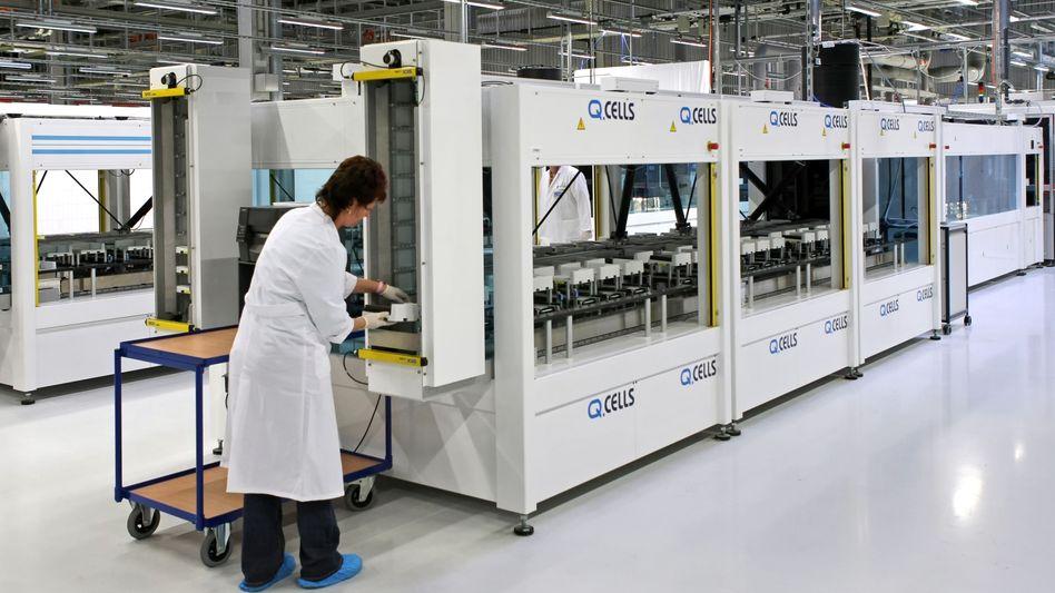Solarzellenproduktion in Bitterfeld-Wolfen: Schwere Krise im Solar Valley