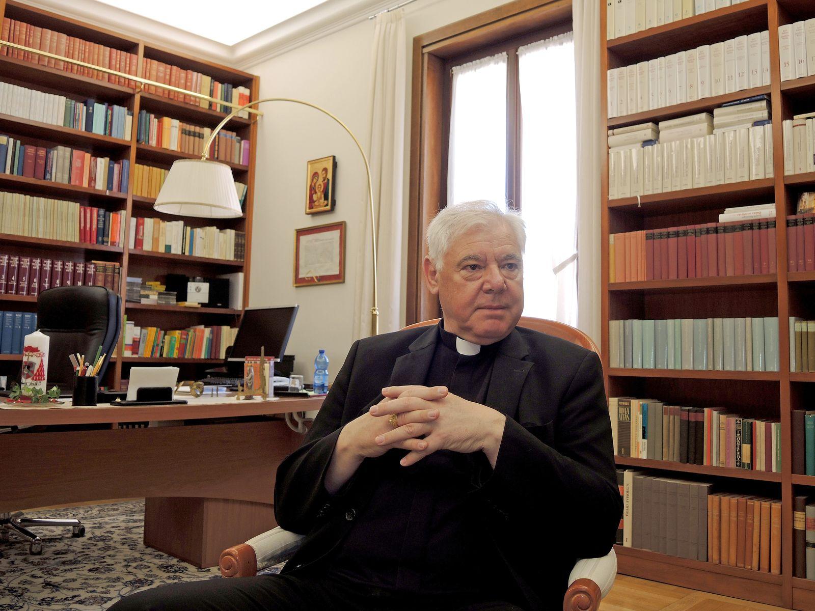 EINMALIGE VERWENDUNG Kardinal Ludwig Mueller