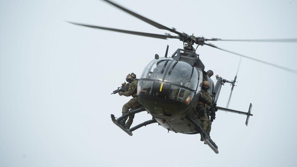 Bo-105-Hubschrauber im Einsatz: Export nach Pakistan