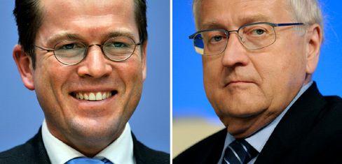 Karl-Theodor zu Guttenberg, Rainer Brüderle: Wer wird Wirtschaftsminister?