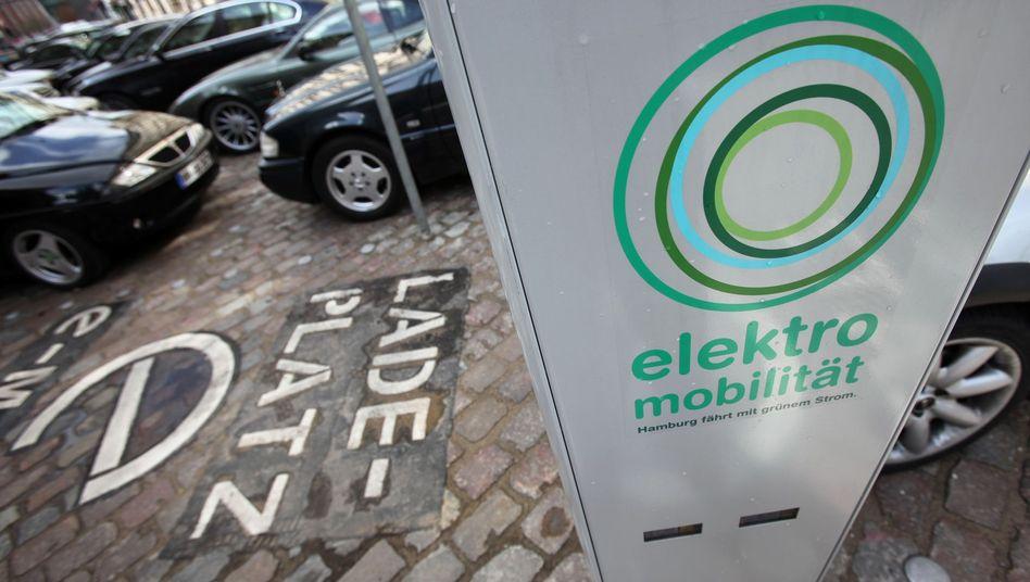 Hamburg: Zahl der E-Tankstellen soll massiv ausgebaut werden