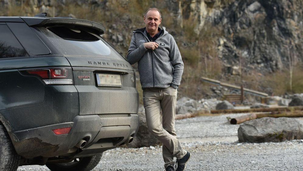 Land Rover-Fan Dag Rogge: Der Landy-Lord