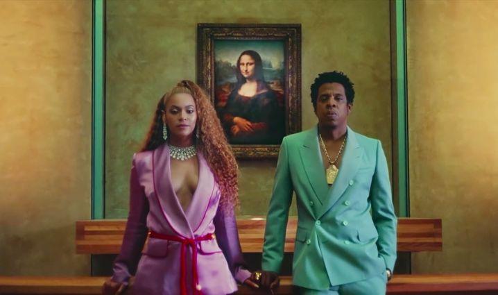 Künstler Beyoncé und Jay-Z vor der Mona Lisa: Historischer Eingriff in die Kultur