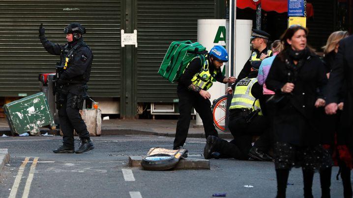 Attacke in London: Terror auf der Brücke