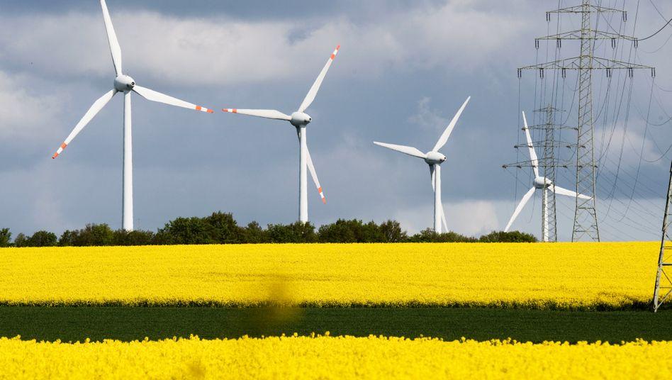 Windkraftanlagen im Landkreis Hildesheim