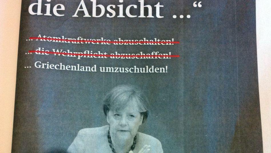 Anti-Merkel-Anzeige der SPD: Halbes Ulbricht-Zitat treibt Koalitionäre auf die Barrikaden